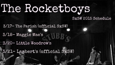 The Rocketboys SXSW 2015